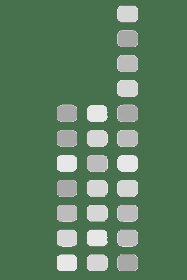 Motorola PMBN4127 Volume ID knop Blauw 5 stuks